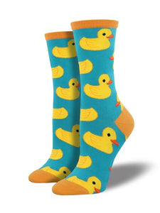 Rubber Ducky Women's Crew Socks