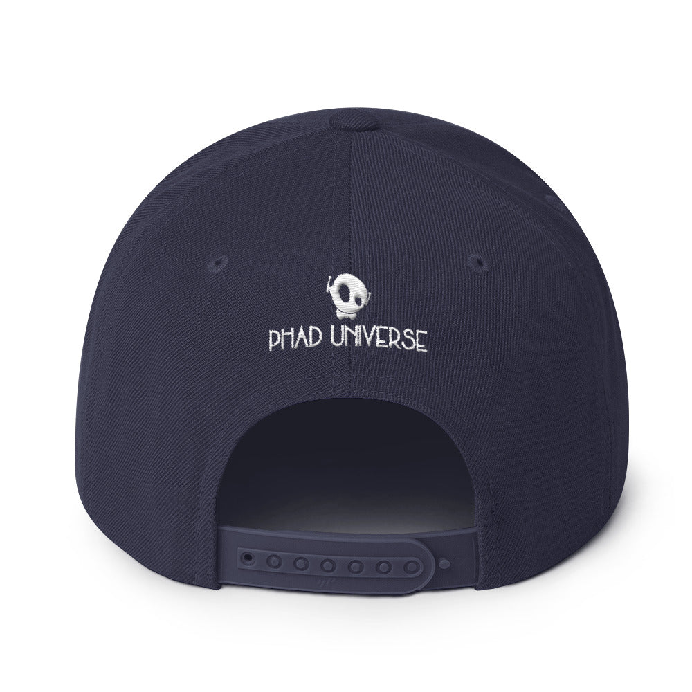 PU LABELED SNAPBACK