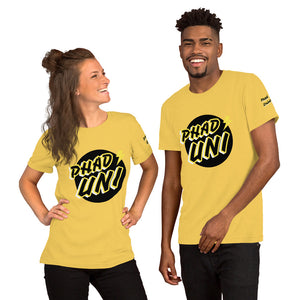 PHAD-UNI YELLOW/BLACK UNISEX TEE