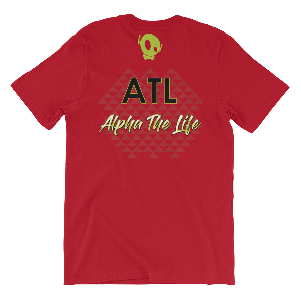 "PU ""ALPHA THE LIFE"" TEE"