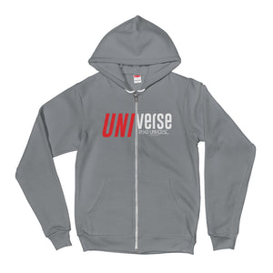 PU UNI ZIPPER FLEECE