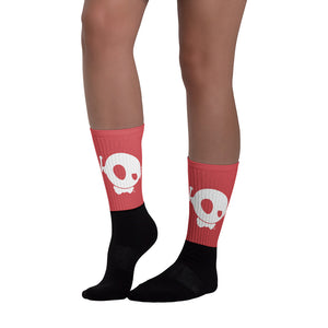 CLASSIC PU RED SOCKS