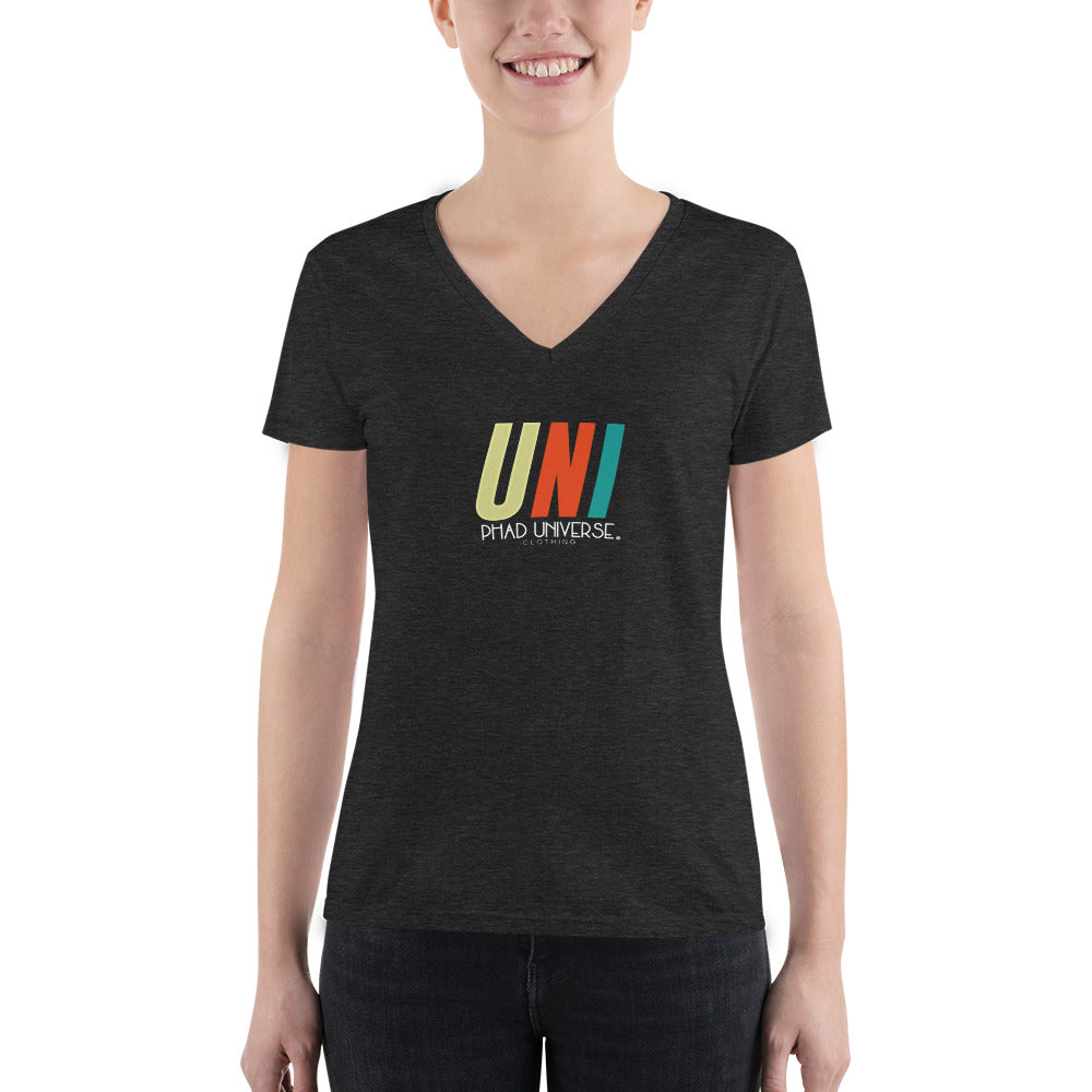 PU 2GETHER TRI-BLEND V-NECK