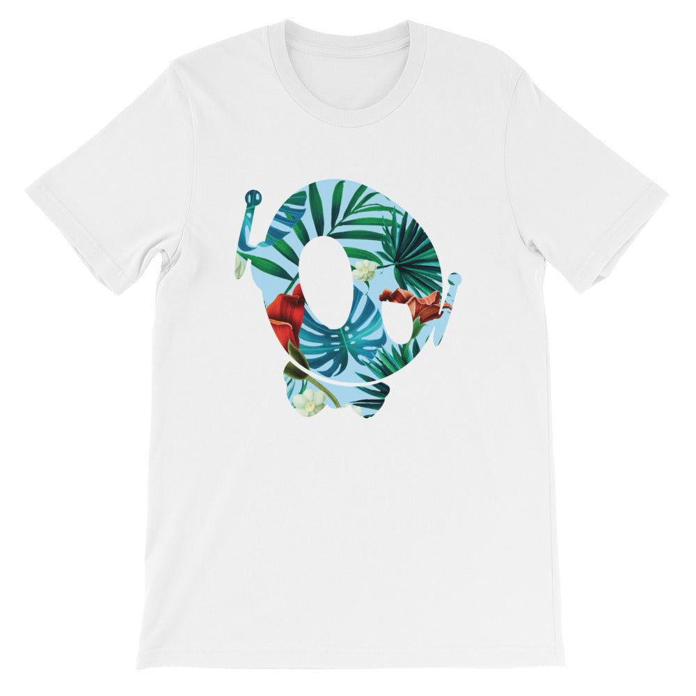 PU HAWAIIAN WHITE TEE