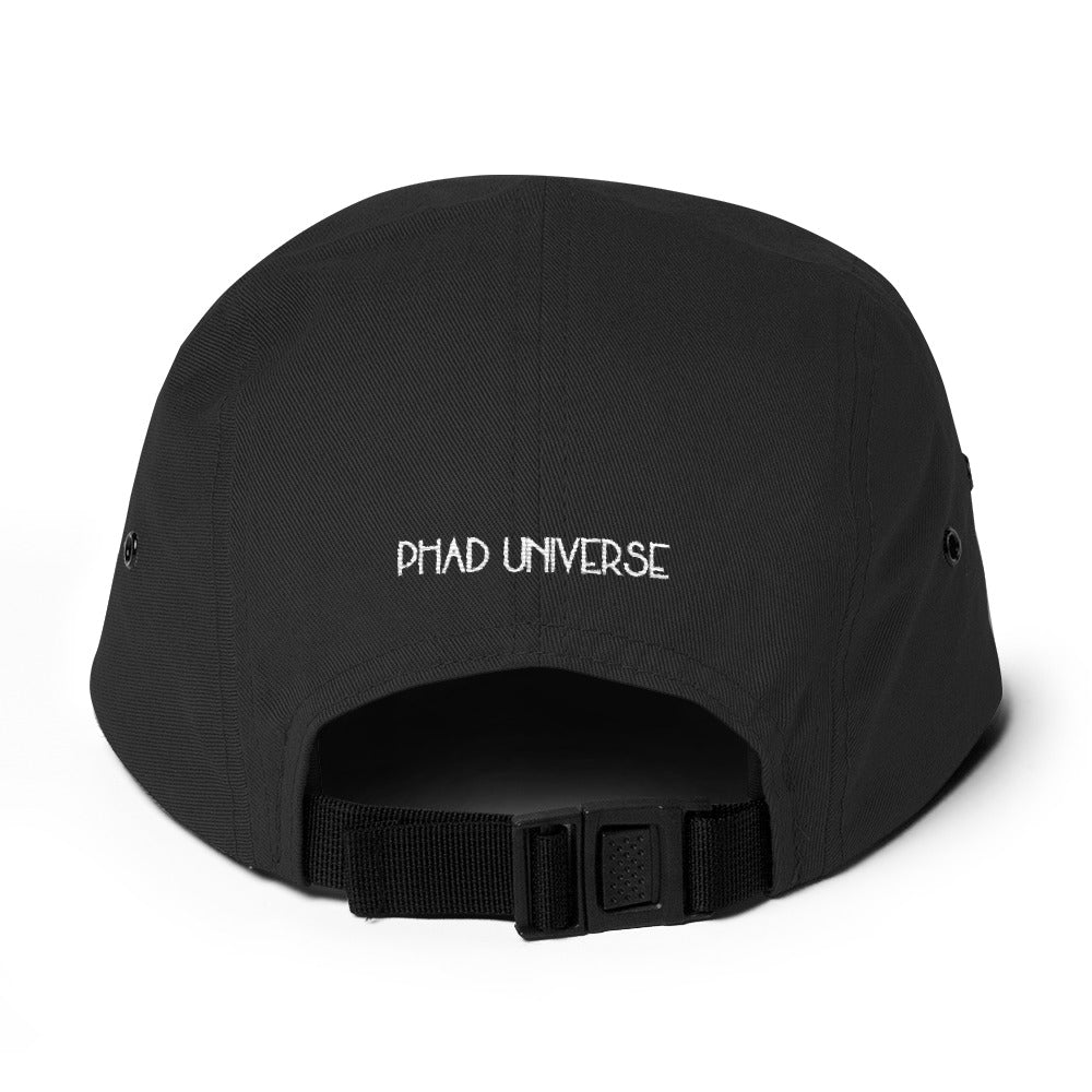 UNI BLACK 5PANEL CAP