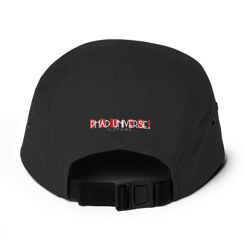 PU CHECKERS 5PANEL CAP