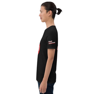 PHAD-UNI BLACK/RED UNISEX TEE