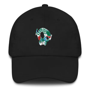 PU HAWAIIAN DAD CAP