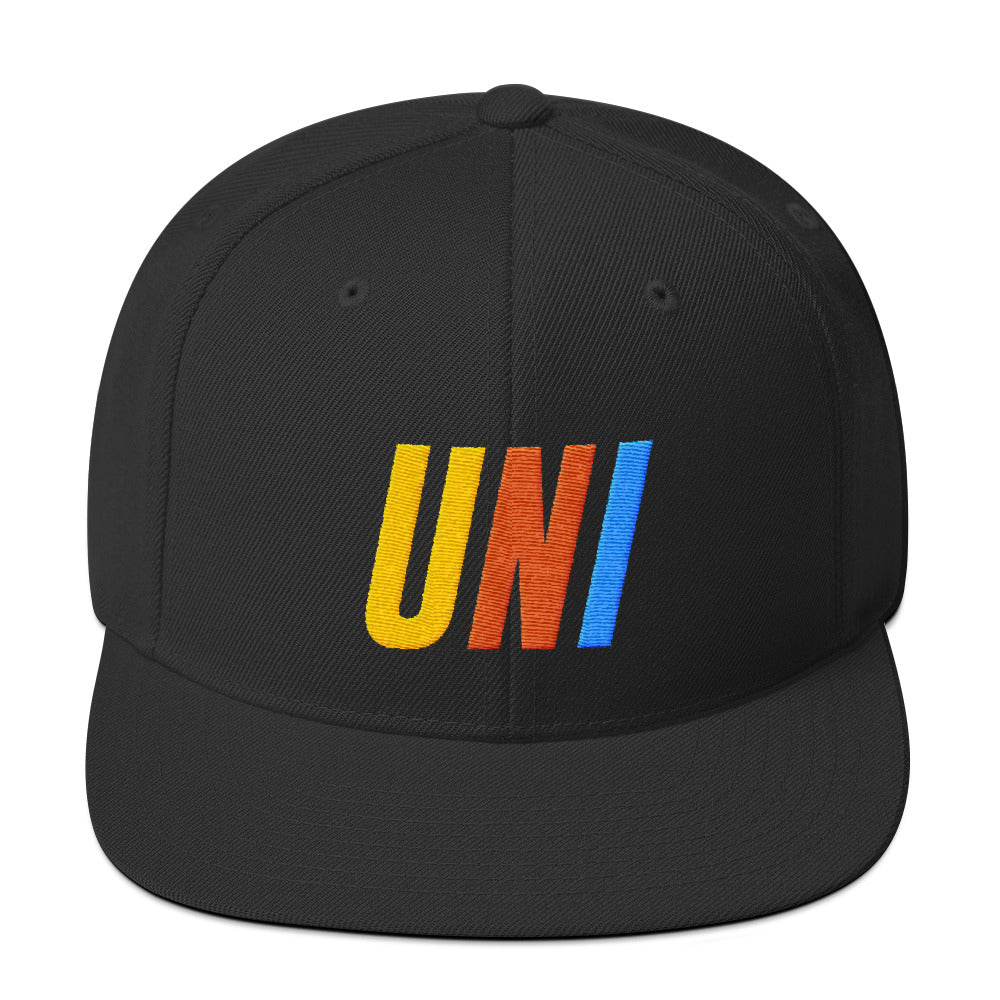 UNI 2GETHER BLACK SNAPBACK