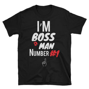 PU BOSS MAN TEE