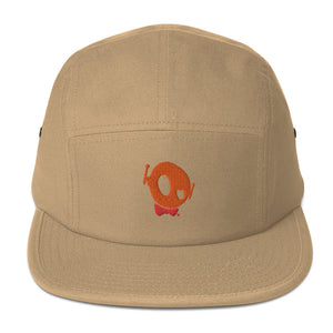 "PU ""THEY SAY I'M OFF BUT REALLY I'M ON!"" 5 PANEL CAP"