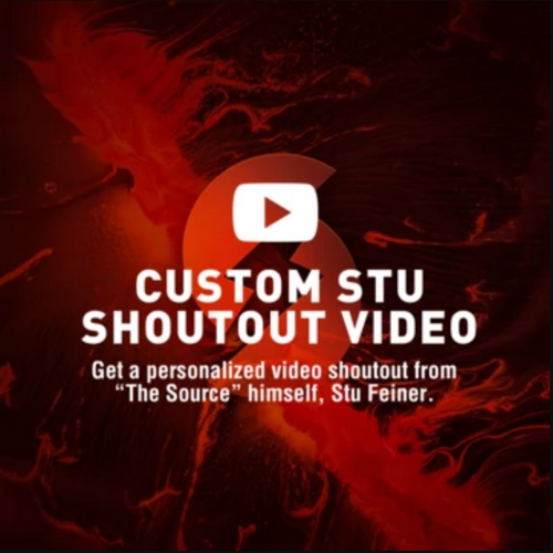 Custom Stu Shoutout Video (No Green Screen)