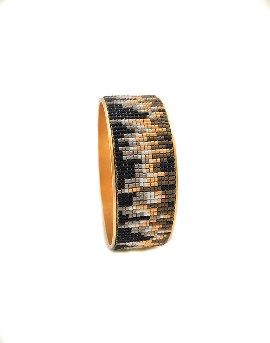 Urban Landscape Cuff – Mixed Metal