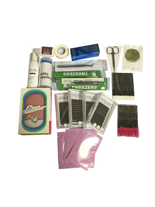 Eyelash Extension Starter/Student Kits Classic and Volume