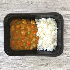 Chicken Curry in a Hurry with Jasmine Rice