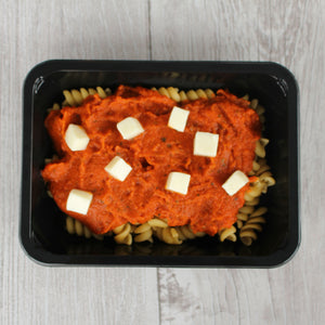Magic Marinara Pasta with Melty Mozarella