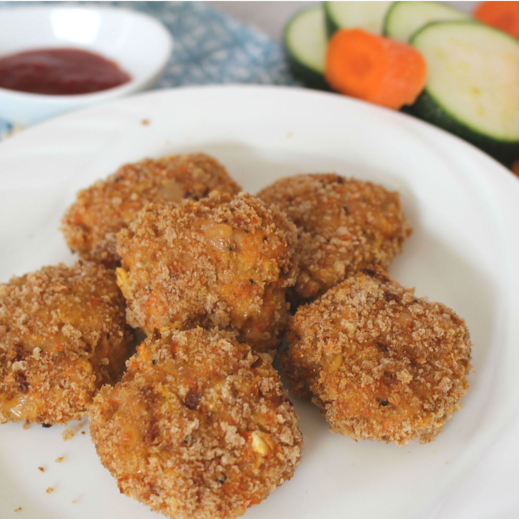 Cluck Cluck Chicken Bites with hidden veg