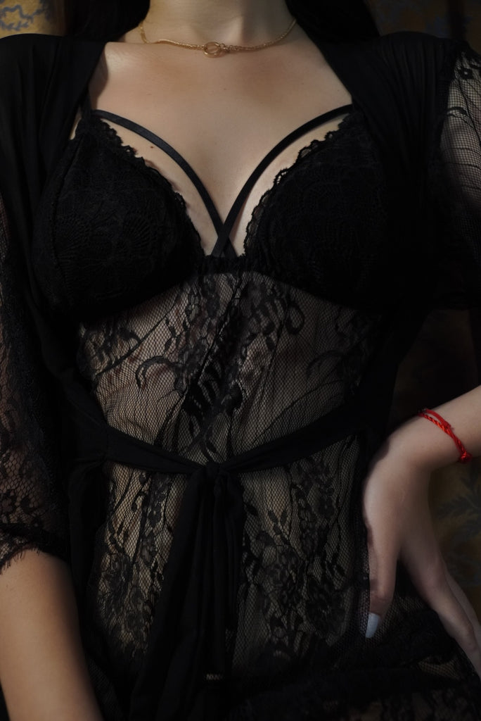 'Black Angel' Lingerie