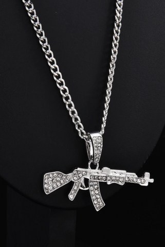'Gun' Necklace