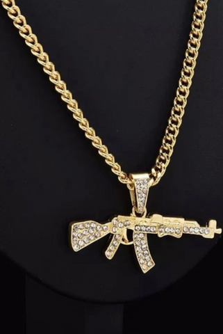 Image of 'Gun' Necklace