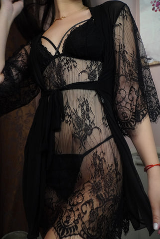Image of 'Black Angel' Lingerie