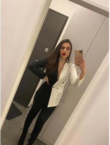 Image of 'Black & White' Blazer