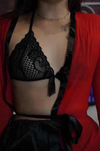 Image of 'Red Diva' Lingerie