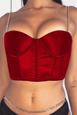 'Red Baby Chain' Corset