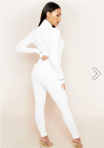 'White Spy' Jumpsuit
