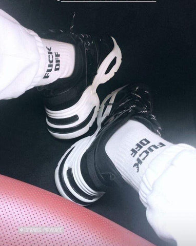 'Fuck Off' Socks