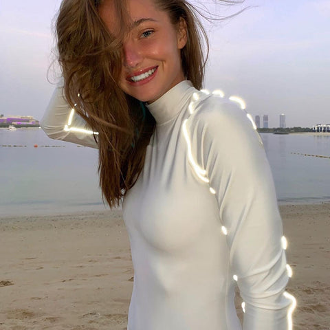 Image of Reflective Bodysuit