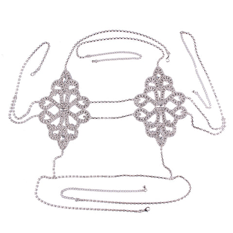 Image of Flower Chain Bra