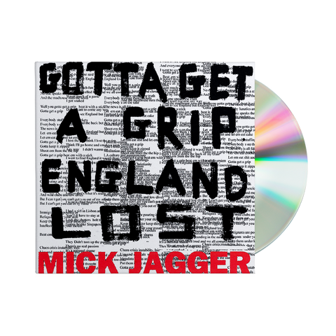 Gotta Get A Grip / England Lost CD Single