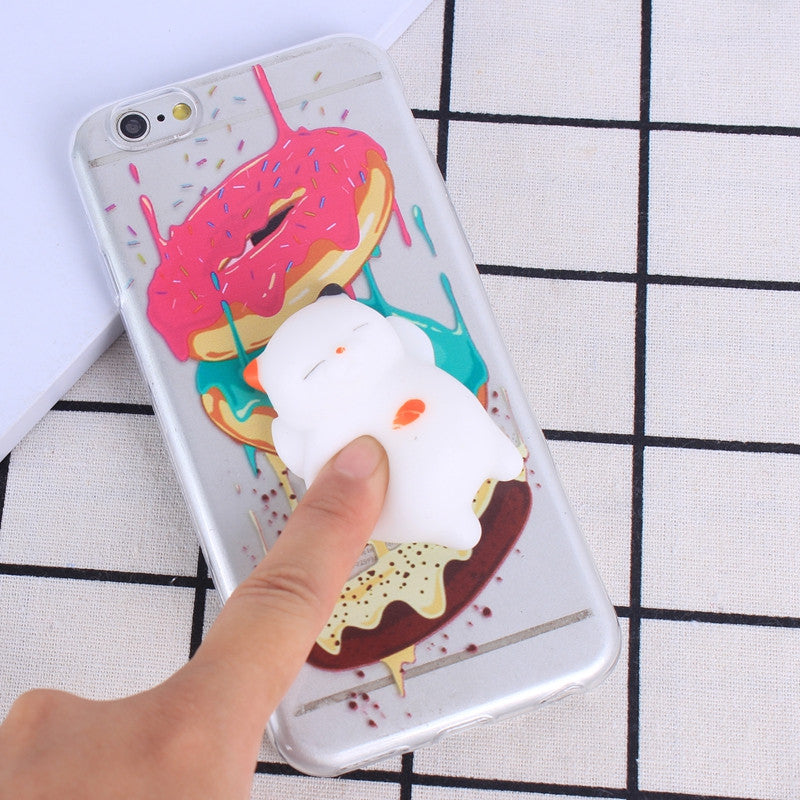 Doughnut - Squishy Phone Case - $4.99 For A Limited Time!