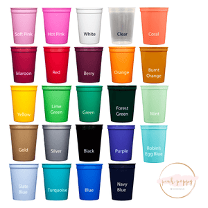 Stadium Cups - I Came To Party Bachelor Party Stadium Cups