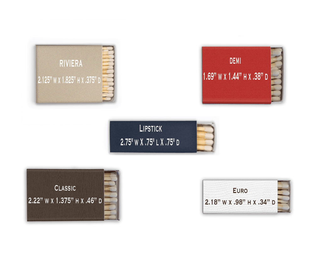 A Perfect Match with Hashtag Personalized Matchbooks