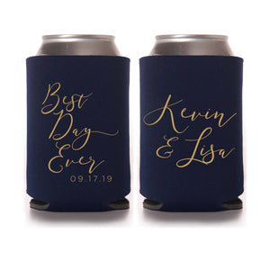 Can Cooler - Best Day Ever Personalized Can Cooler