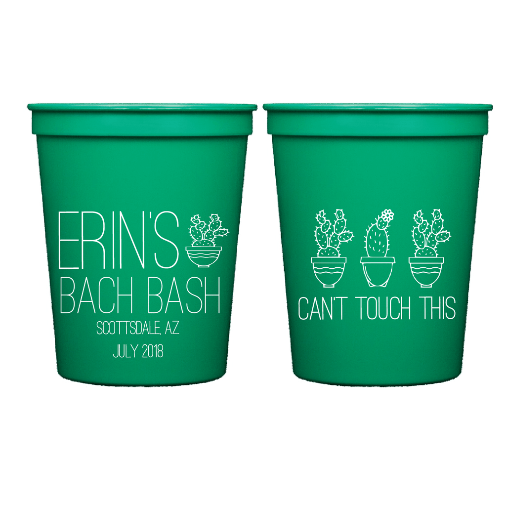 Can't Touch This Bachelorette Party Cups