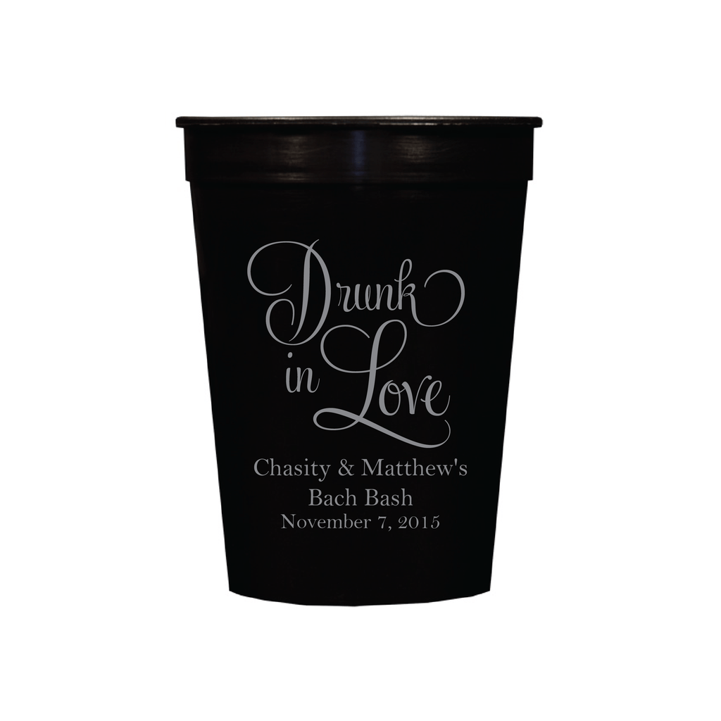 Drunk in Love Personalized Stadium Cups