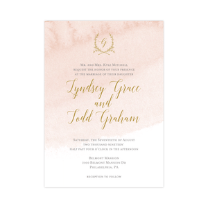Wedding Invitation - Invitation | The Lyndsey Wedding Collection