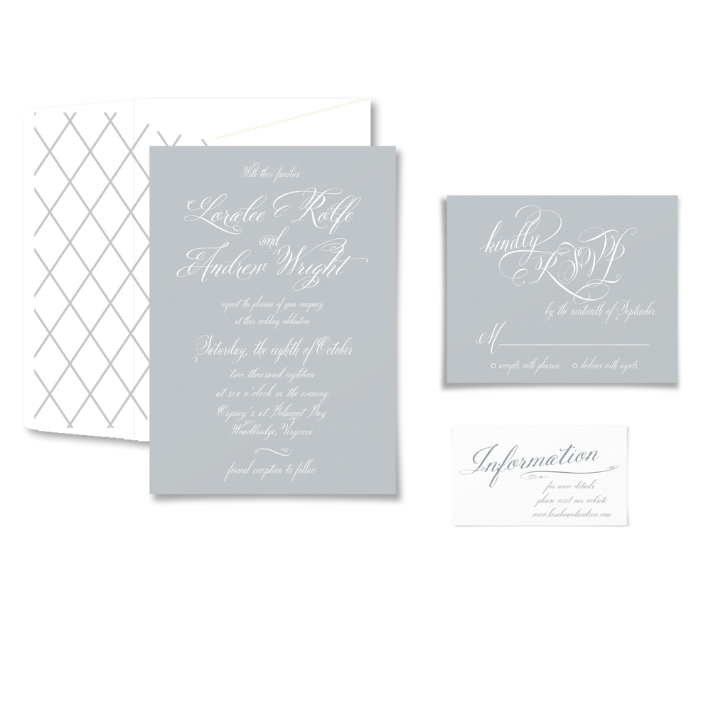 Invitation | The Ella Wedding Collection