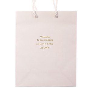 Favor Bags - Personalized Wedding Welcome Bags | Piper Wedding Collection