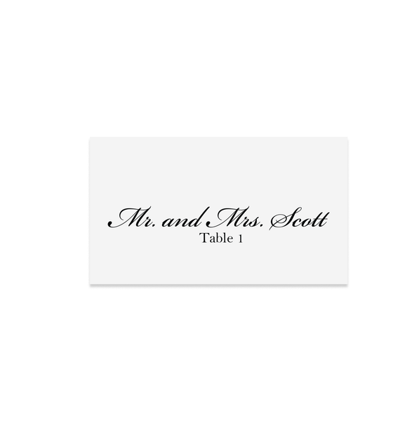 Place Cards | Julia Wedding Collection