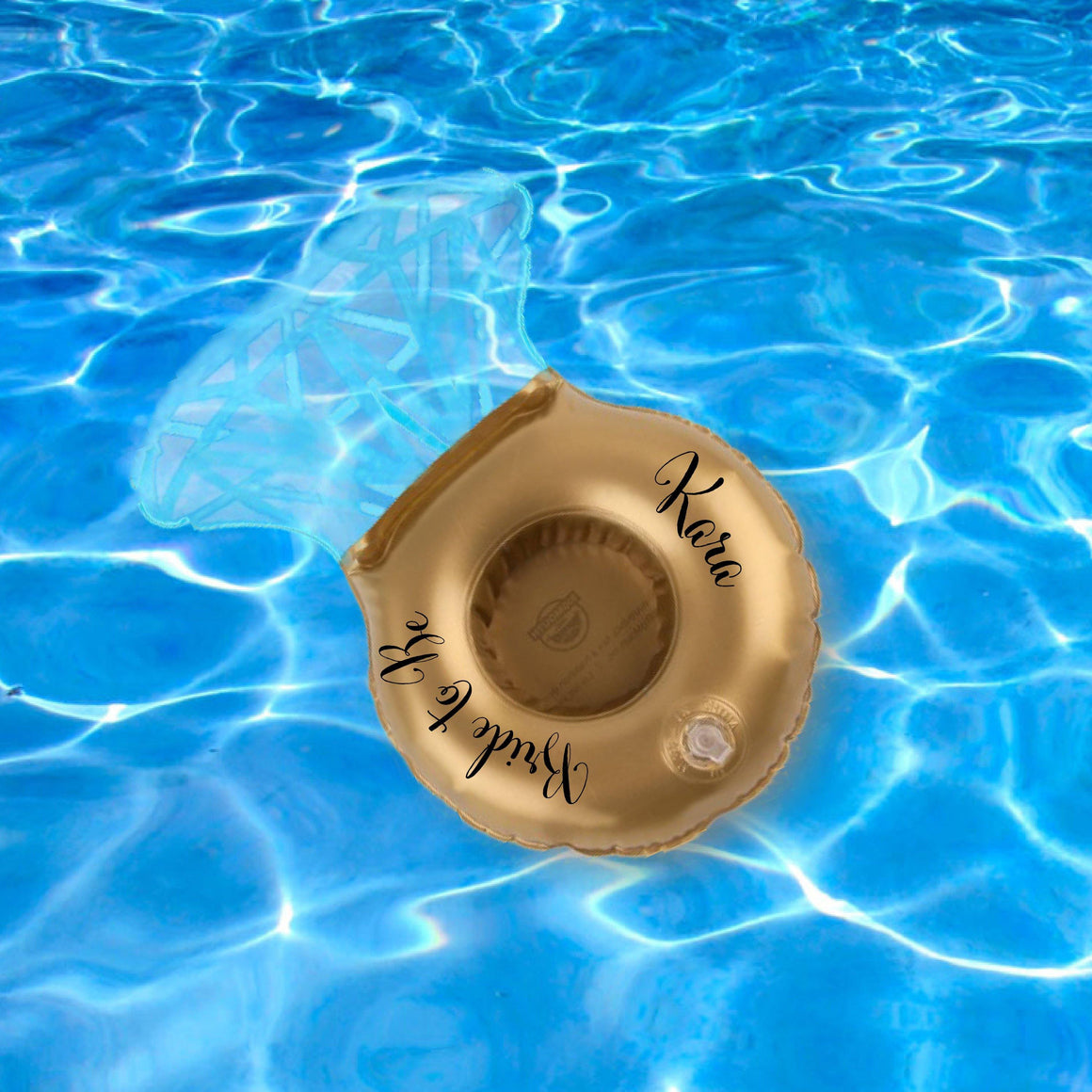 Pool Float - Engagement Ring Pool Can Holder Float