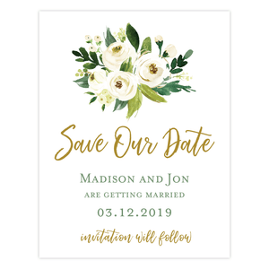Save The Date - Save The Date | The Madison Wedding Collection