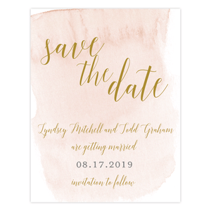 Save The Date - Save The Date | The Lyndsey Wedding Collection