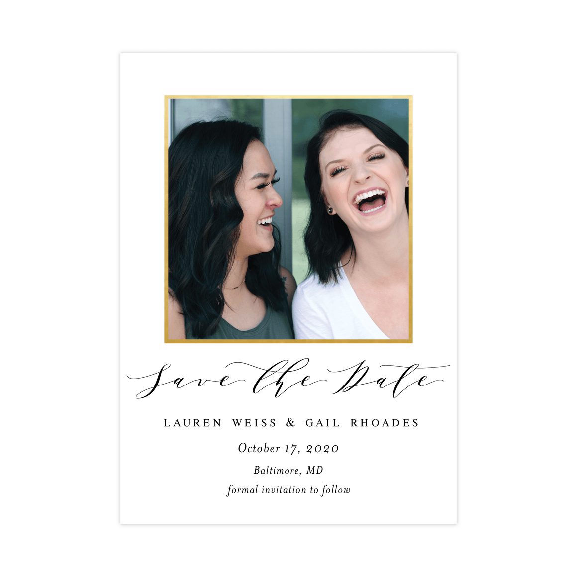 Save the Date | Stylish Script
