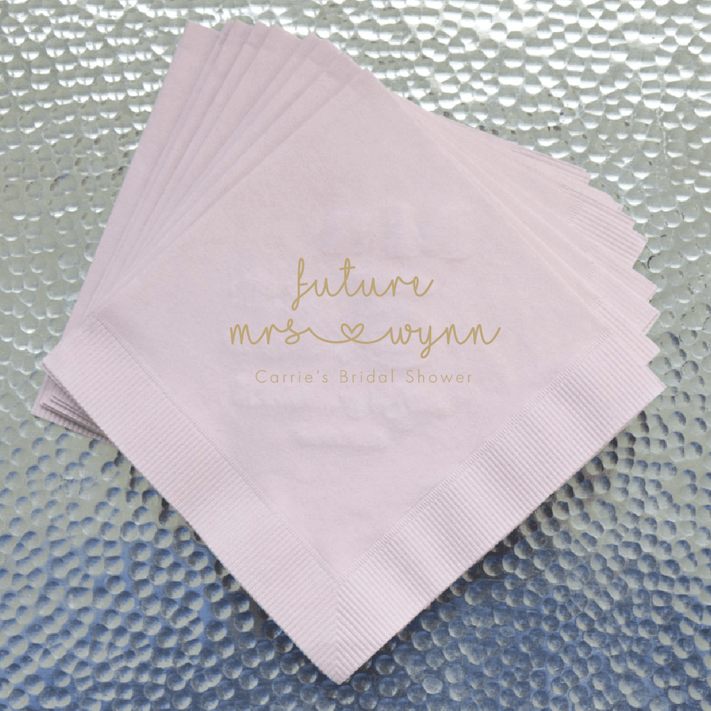 Future Mrs Bridal Shower Napkins