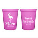Miami Before the Veil Bachelorette Stadium Cups