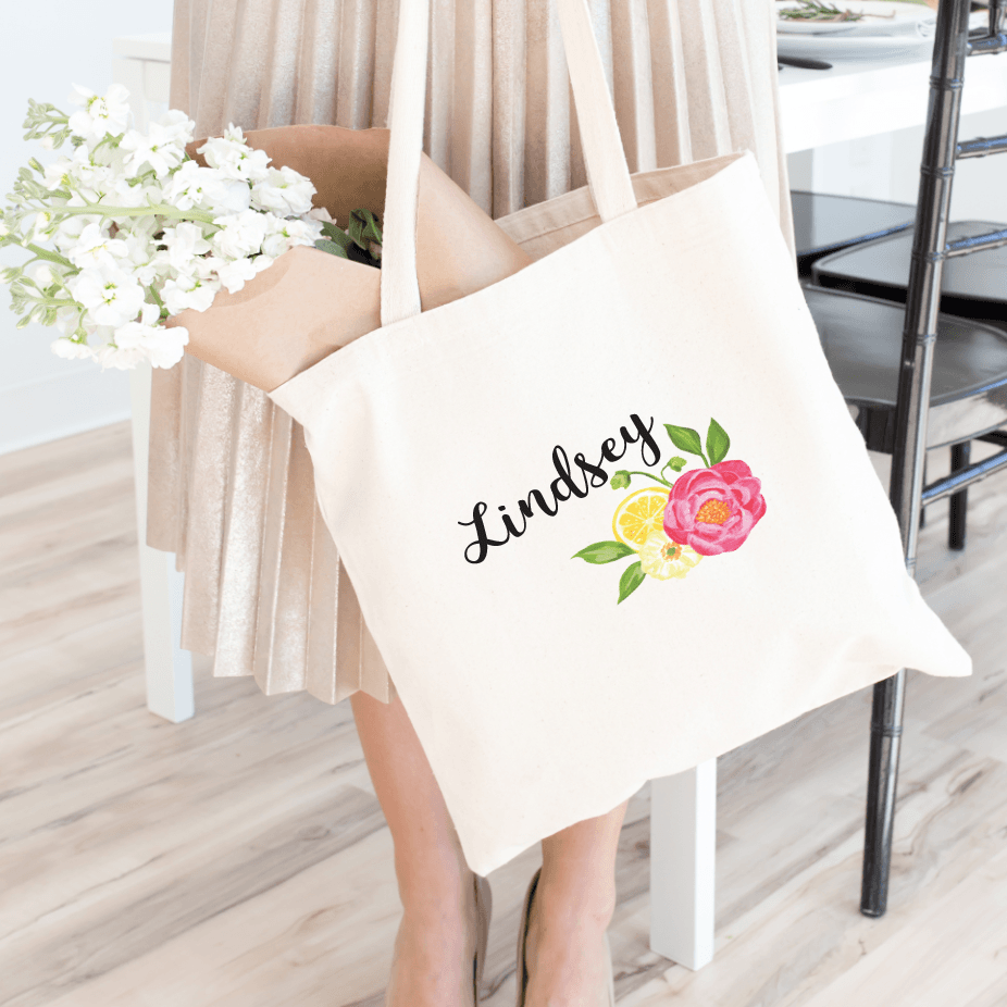 Tote Bag - Summer Bridal Tote Bag